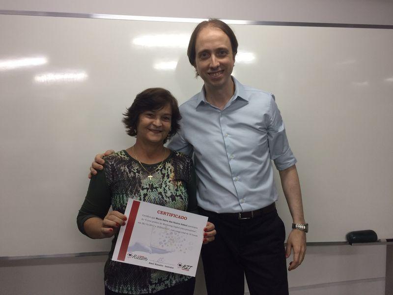 Curso de Marketing Digital para jornalistas em Brasília - Maria Dalva Sobral e Almir Rizzatto