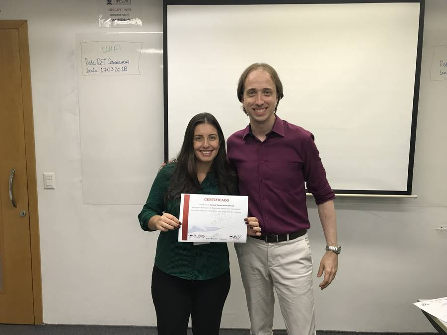 Curso de Marketing Digital para jornalistas - Larissa Macan e Almir Rizzatto