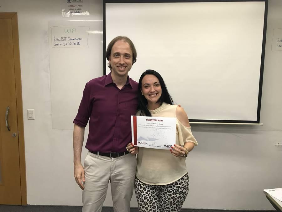 Curso de Marketing Digital para jornalistas - Almir Rizzatto e Cristiane Ferraz